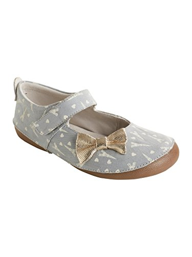 52414774191cd Vertbaudet Chaussons Fille imprimé Phosphorescent Gris 24
