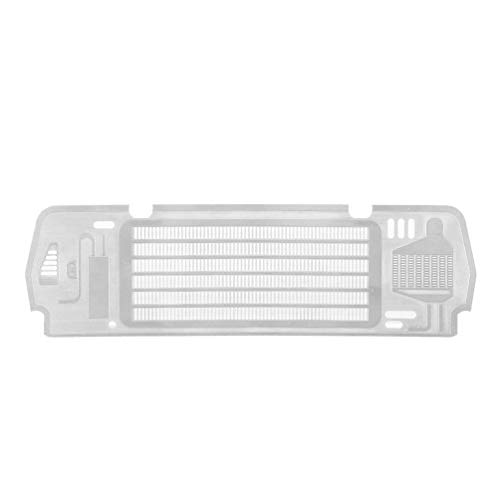 Wenwenzui TRX4 Hood Engine Air Intake Grille Inlet Port Grille for RC TRAXXAS TRX4 Ford Silver - Inlet Port