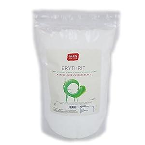 2 + 1 GRATIS Erythrit 1kg = 3kg I natürlicher Zuckerersatz I ohne Kalorien I...