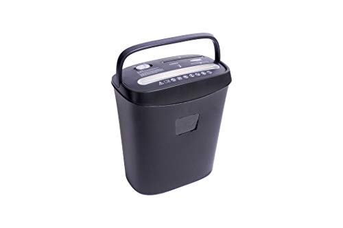 Bambalio BCC-2200 Paper/CD/Credit Card Cross Cut Shredder with 8 Sheet Capacity and 15 L Bin