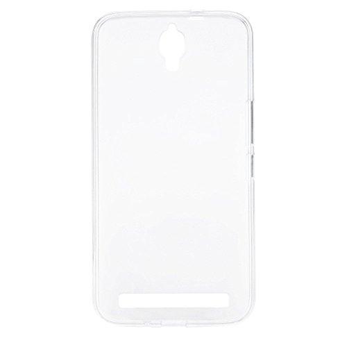 Prevoa ® 丨Transparent Silikon TPU Hülle Cover Case Schutzhülle Tasche für Umi Emax 5,5 Zoll FHD LTPS Schirm-Mobiltelefone Android 4.4 Smartphone - (Weiß)