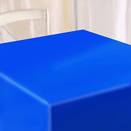 casa pura Wachstischdecke Hellblau | abwaschbar | ideale Größe wählbar, Meterware (220x140cm)