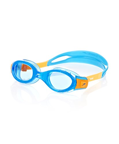 Mainline Kinder Junior Futura Biofuse Goggles, Blue/Yellow, One Size