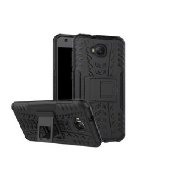 Helix Dazzle Hybrid Back Cover for Asus Zenfone 4 Selfie Pro - Black