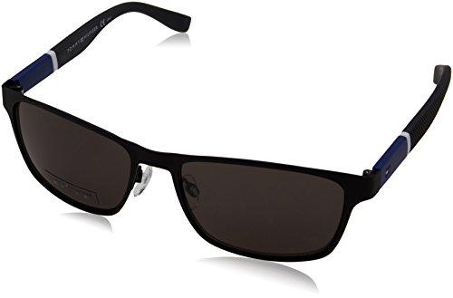 Tommy Hilfiger - TH 1283/S - Sonnenbrille Herren Rechteckig - Leichtes Material - 100% UV schutz - Schutzkasten inklusiv
