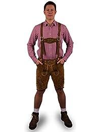 ALMENRAUSCH Herren Trachtenhose hell Model München Bayern Oktoberfest Tracht Neu