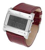 Haurex DA222XV1 Bracelet montre en Peau d'agneau Brun