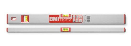 BMI 690120EM Wasserwaage Eurostar, Länge 120 cm, eloxiert, mit Magnet