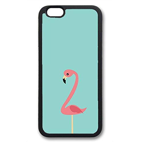 Coque silicone BUMPER souple IPHONE 6/6s + PLUS - Flamant rose flamingo animal CASE tpu DESIGN + Film de protection INCLUS 3