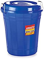 Aristo Multipurpose Plastic Storage Bucket 50 Ltr (Blue)