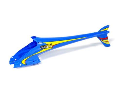 EK1-0581 - E-Sky LAMA V4 Hintere Verkleidung RC Heli Ersatzteile !!! Passend auch für den Lama V2, V3, Co-Comanche, Robi und ähnliche Koaxialhelikopter in blau !!!