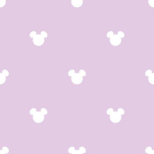 Dandino MK 3015-4 Tapete Mickey-Logo, Lila, 60 x 18 x 18 cm
