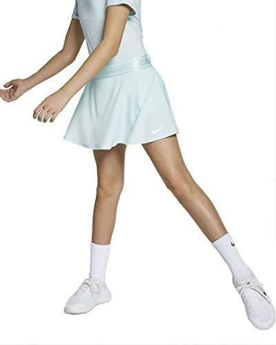 Nike Mädchen G Nkct Flouncy Skirt Rock, Blaugrün Weiß, S