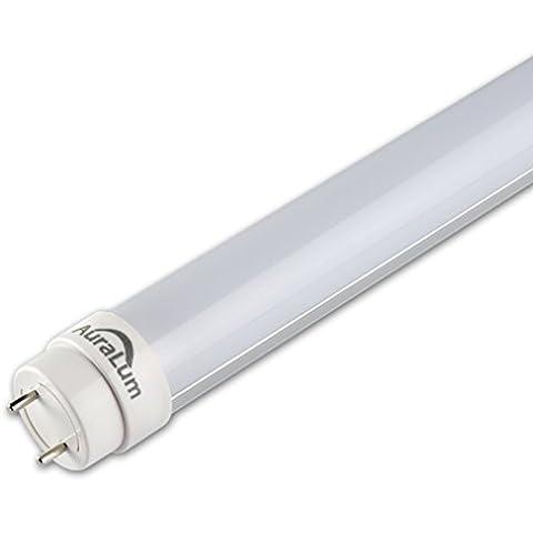 Auralum 150 cm bianco T8 LED tubo fluorescente tubo 2835 * 144 LED lampadine con pezzi di avviamento LED selezionabile, 20 Stücke, G13 24.0 wattsW - Fluorescente Avviamento
