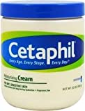 #3: Cetaphil Moisturizing Cream for Dry, Sensitive Skin, Fragrance Free, 20 oz