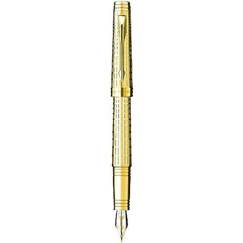 Parker - Penna Stilografica Premier Deluxe Gold