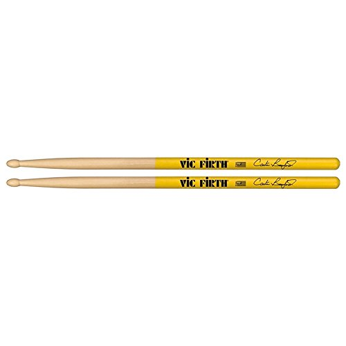vic-firth-vfsbea-baguettes-hickory-americain-olive-en-bois-carter-beauford-signature