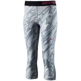 Nike G NP CL CPRI AOP2 - Leggins Silber - S - Mädchen