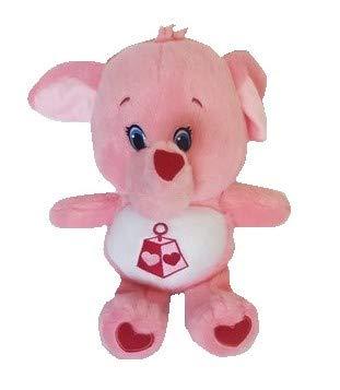 Care Bears Glücksbärchis Plüschtier für Kinder 28 cm (Rosa) (Care Bear Plüsch)