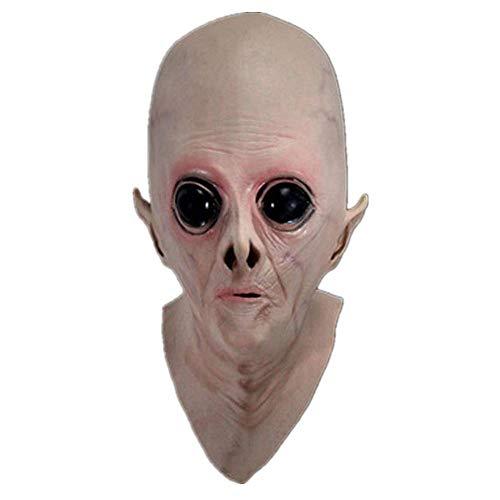 Kostüm Phantom Perücke - JLDWHS Halloween Maske _ Halloween Maske Alien Perücke UFO Haube Science-Fiction-Film Thema Cos Horror @ A