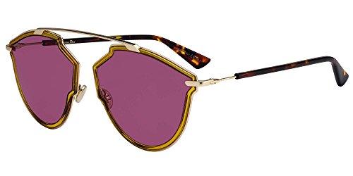 Sonnenbrillen Dior DIOR SO REAL RISE YELLOW/VIOLET Unisex