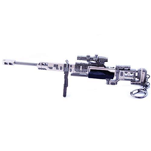HNTZH Mini Limited Edition Spiele Prop 1/6 Metall Kraber.50-Cal Sniper Rifies Modell Figur Schlüsselanhänger Spielzeug Zubehör -