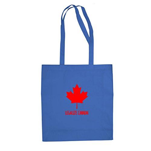 Legalize Canada - Stofftasche / Beutel Blau