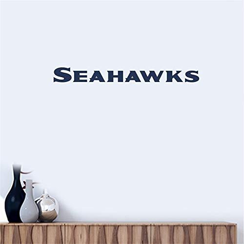 Wandtattoo Seattle Seahawks # 4 Team Logo Wandaufkleber Vinyl Wandaufklebe