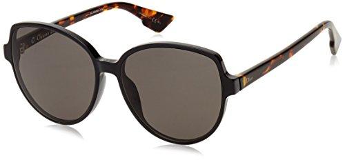 Dior Damen DIORONDE2 NR TAO Sonnenbrille, Schwarz (Black Havana/BRW Grey), 58