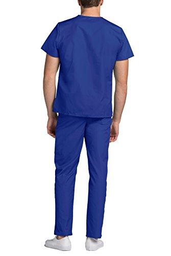 Herren-Schrubb-Set – Medizinische Uniform mit Oberteil und Hose 701_M Color RYL | Talla: M - 4