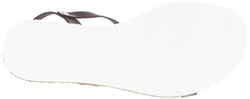 Esprit Keita T-Strap, Sandales Bout Ouvert Femme Noir (001 Black)