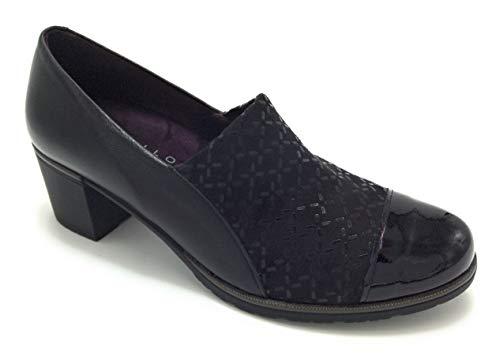 PITILLOS 5734 Zapato Lycra Negro - 37