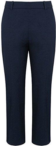 New L.K. Bennett blau marineblau Lolita Slim Capri zugeschnitten Formale Hosen (Lk Hose)