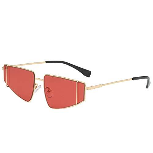 POTOU Brillen Mode Sonnenbrillen Mode-AccessoiresVintage Retro Brille Unisex Big Frame Sonnenbrillen Eyewear