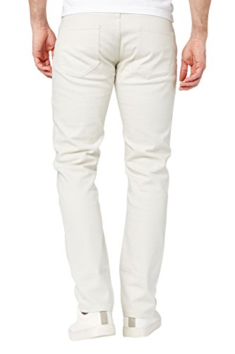 next Herren Jeans Slim Fit Ecru