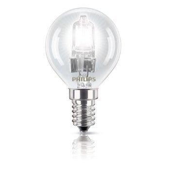 Philips 83146700 ECOCLASSIC30 TRL 28W E14 K Energiesparende Hochvolt-Halogen Tropfenlampe klar