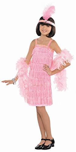 Enter-Deal-Berlin Kinder Mädchen Kostüm Flapper Größe 134 cm ( 8-10 Jahre )