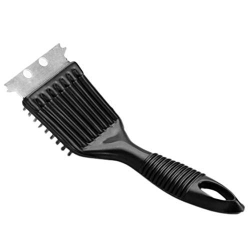 Kunststoff-grill-reinigungsbürste (tianxiangjjeu Kunststoff-Reinigungsbürste Metallschaber Grill Asche Entfernen Fett Reinigungswerkzeug Schwarz)