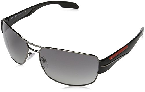 Prada Sport Herren Mod. 53Ns Sole Rechteckig Sonnenbrille, 5AV3M1