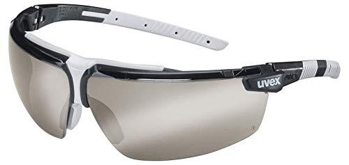 Uvex I-3 Schutzbrille - Anti-Fog - Getönt/Schwarz-Grau