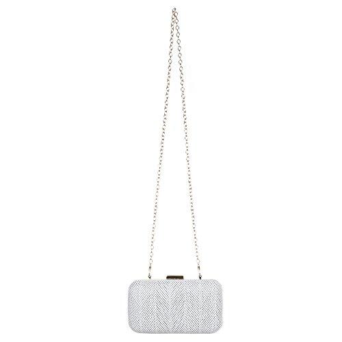 Clutch Handtasche mit Umhängekette Schwarz - Vuitton Handtaschen