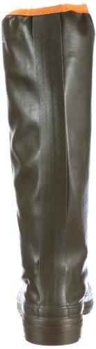 Aigle Rubber Pack Kaki/orange, Bottes Femme Vert (dunkelgrün)