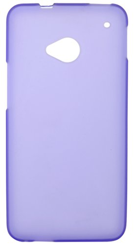 iCandy Back Cover for HTC One M7 (Purple)  available at amazon for Rs.109
