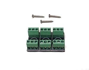 Gaugemaster GM-GMC-PM50 - Conectores para ferrocarril, Color Verde