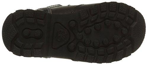 Timberland Splitrock 2, Bottes Classiques Fourrées Garçon Noir (Black)