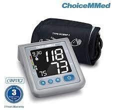 CBP 1K2 Oberarm-Blutdruckmessgerät mit Stimme, weiß, display 4.0