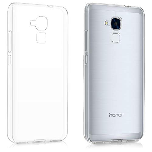 kwmobile Huawei Honor 5C Hülle - Handyhülle für Huawei Honor 5C - Handy Case in Transparent