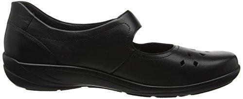 Semler Birgit, chaussures compensées femme Schwarz (Schwarz)