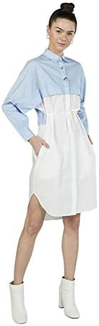 Iconic Women's 2091109 SS24CLBLKLNS Woven Body Blouse, Ye