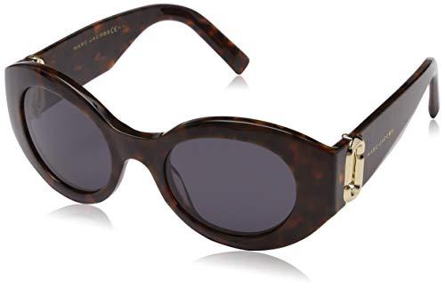 Marc Jacobs Damen MARC 180/S IR C9B 49 Sonnenbrille, Havana Honey/Grey Blue -